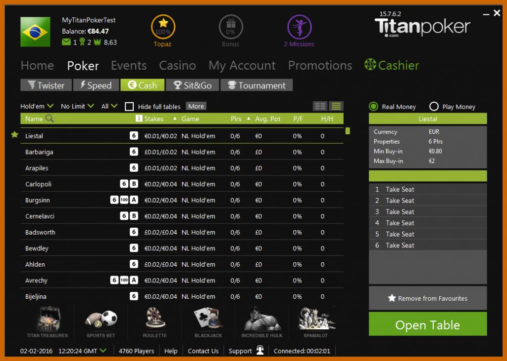 Софт Титан Покера