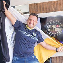 Бразильский покерист выиграл более миллиона долларов на Sunday Million 14th Anniversary