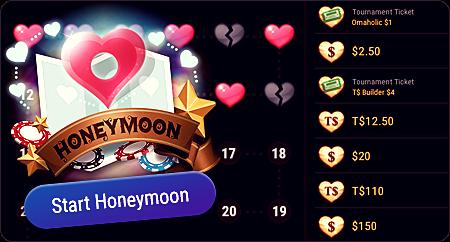 Honey Moon на ПокерОк